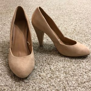 Forever 21 blush pink heels, worn once
